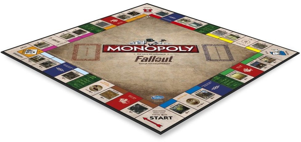 Winning Moves Gra Monopoly Fallout