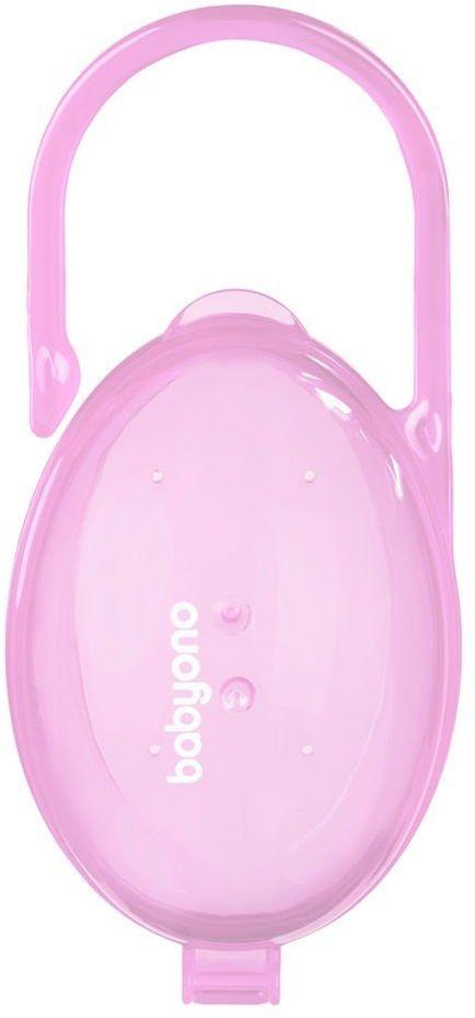 Pojemnik na smoczek różowy BabyOno