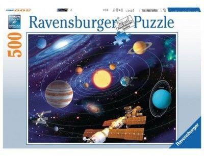 Puzzle Ravensburger 500 - Układ słoneczny, Solar System