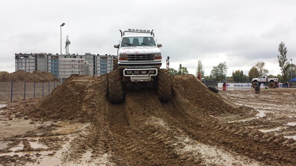Jazda Monster Truck jako pasażer  Katowice