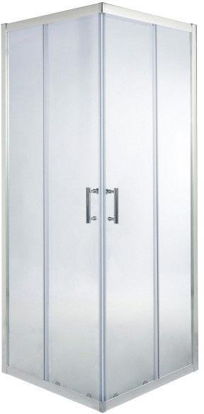 Kabina prysznicowa kwadratowa Onega 70 x 70 x 190 cm chrom/transparentna