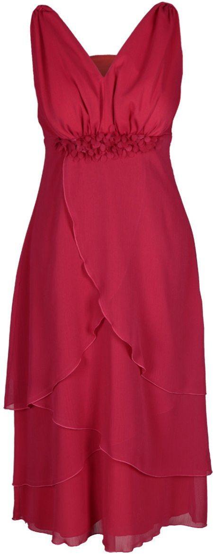 Sukienki Sukienka Suknie FSU220 MALINOWY