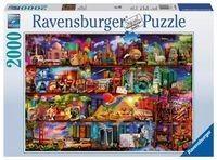 Puzzle Ravensburger 2000 - Świat książek, World of Books