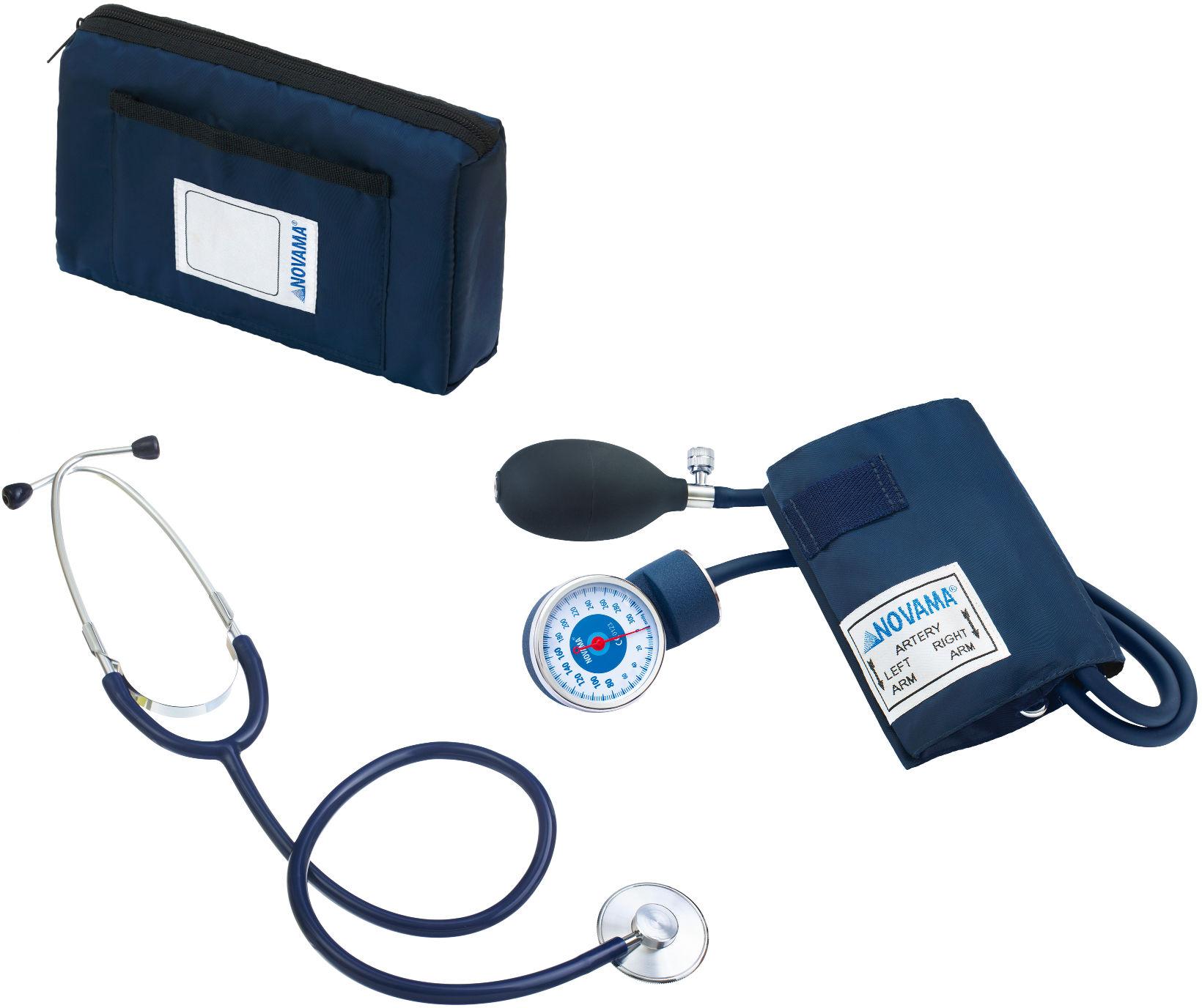 NOVAMA Classic + ze stetoskopem Ciśnieniomierz zegarowy ze stetoskopem