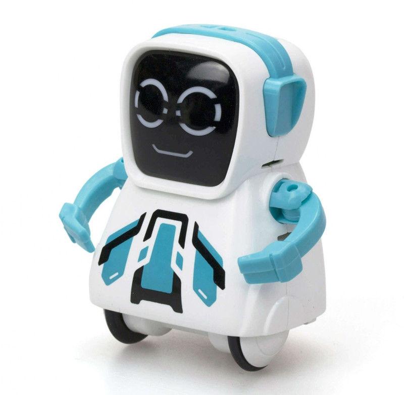 Silverlit - Pokibot SR-02 niebieski 88529
