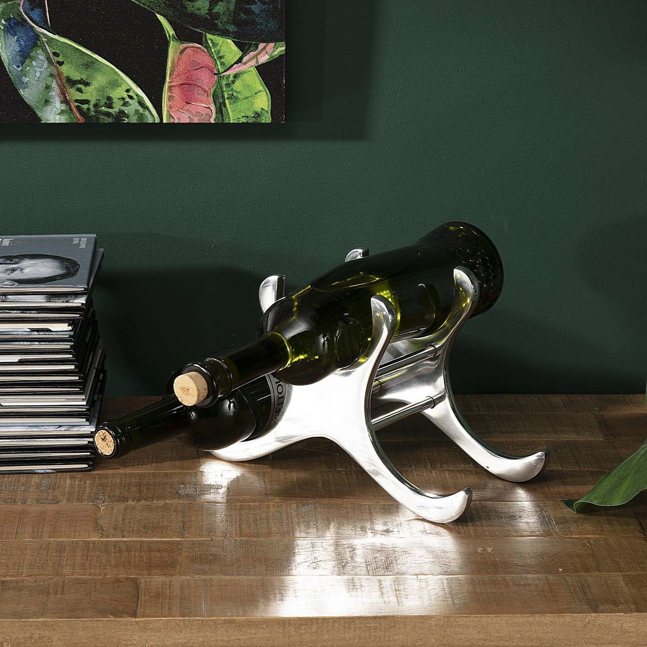 Stojak na wino Ciran 27cm, 27 x 12 x 17 cm