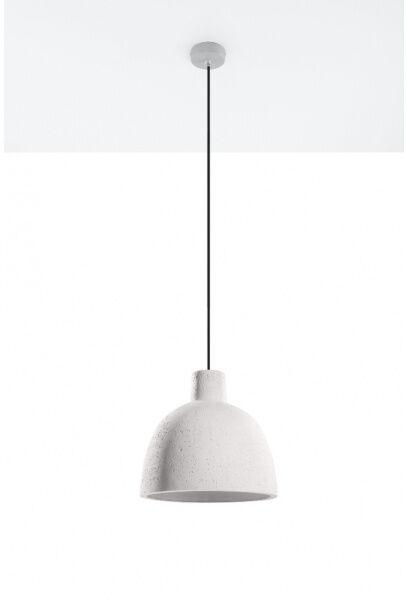Betonowa lampa wisząca DAMASO SL.0281 1xE27 szara