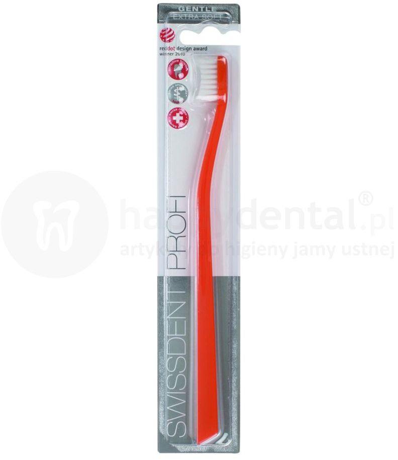 SWISSDENT GENTLE Extra Soft szwajcarska szczoteczek do zębów z ultra miękkim włosiem