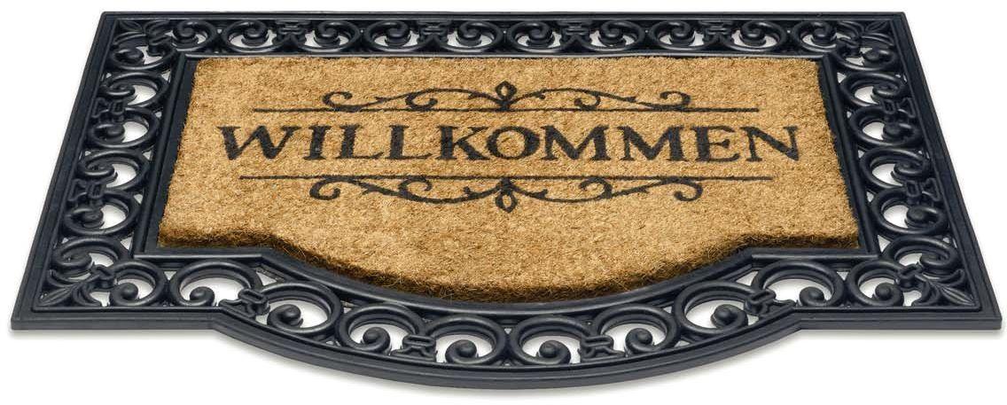 HMT Impala Willkommen kokosowa mata piaskowa, 60 x 80 cm