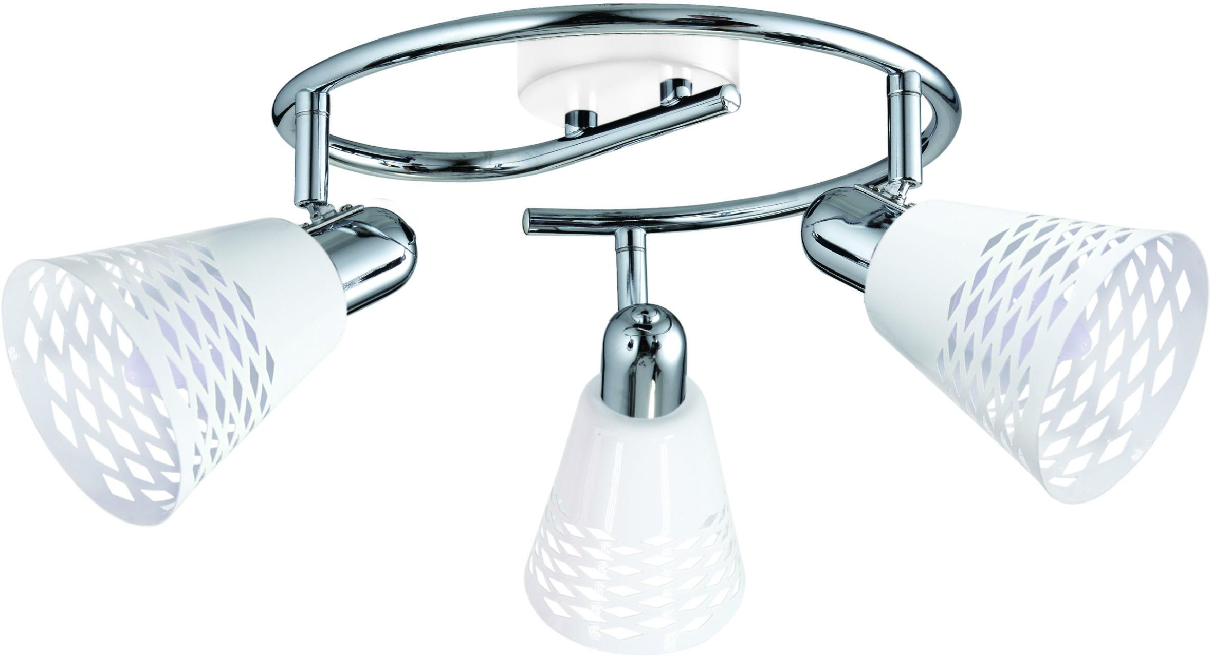 Candellux DISCOVERY 98-62185 plafon lampa sufitowa spirala metalowy klosz 3X40W E14 50cm