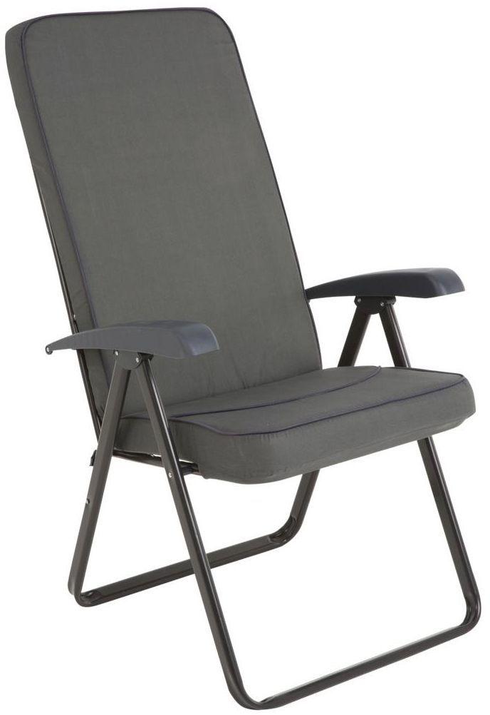 Fotel ogrodowy MODENA SQUARE PATIO antracytowy