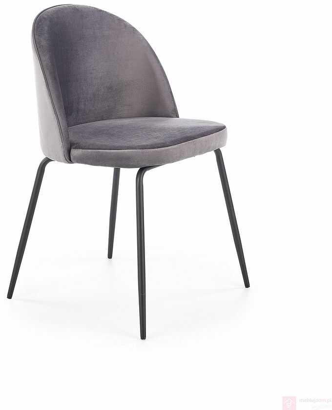 KUPON 10% NA STRONIE  Krzesło K-314 Halmar Szary