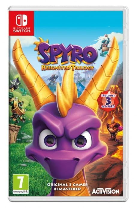 Gra Spyro Trilogy Reignited (Nintendo Switch)