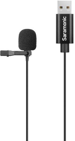 Saramonic SR-ULM10L - mikrofon pojemnościowy krawatowy, lavalier, złącze USB-A Saramonic SR-ULM10L