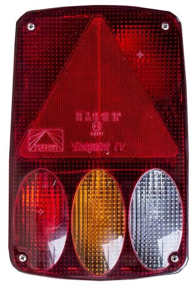 Lampa tylna Aspock Earpoint IV 5-PIN i 8-PIN przeciwmgielne, wsteczny - LEWA