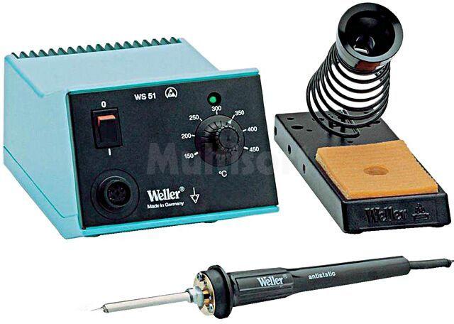 Stacja lutownicza WELLER analogowa 50W 230VAC