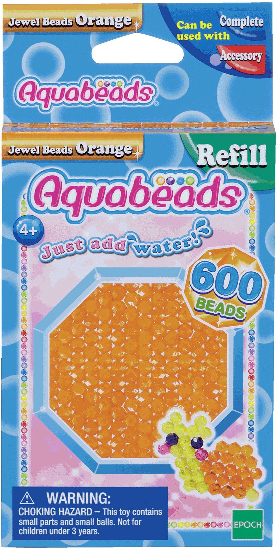 Aquabeads - Koraliki jubilerskie - pomarańczowe