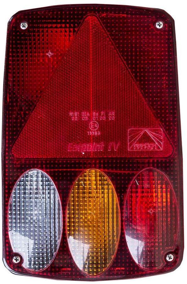 Lampa tylna Aspock Earpoint IV 5-PIN i 8-PIN przeciwmgielne, wsteczny - PRAWA