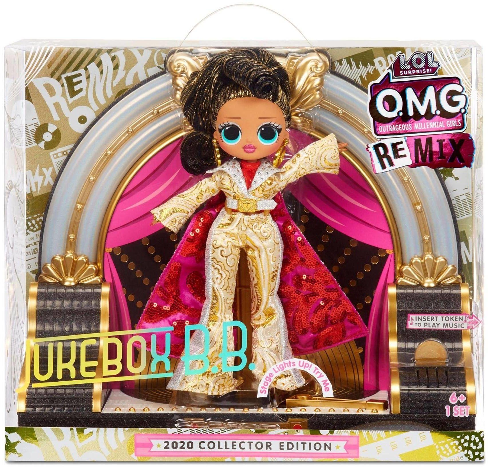 L.O.L. SURPRISE Lalka kolekcjonerska LOL OMG REMIX Jukebox B.B. Szafa Grająca 569886