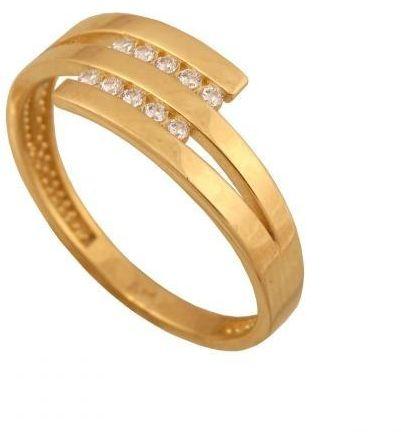 Złoty pierścionek tradycyjny Pi420