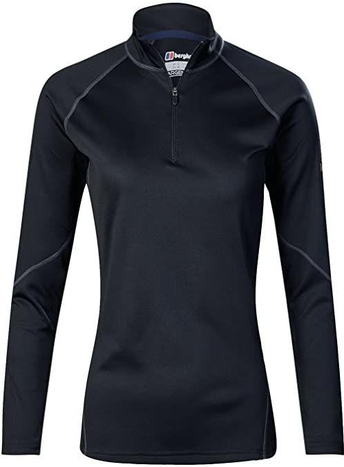 Berghaus damska koszulka z długim rękawem Tech 2 Czarny/Czarny 8