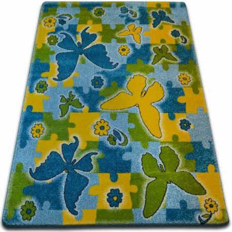 Dywan KIDS Butterfly niebieski C429 120x170 cm