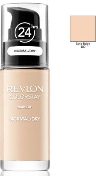 Revlon ColorStay 180 Sand Beige 30ml podkład z pompką do skóry suchej i mieszanej [W]