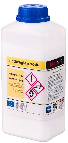 Nadwęglan Sodu 1 kg Naturalny Wybielacz Biomus