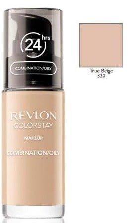 Revlon ColorStay 320 True Beige 30ml podkład z pompką do skóry mieszanej i tłustej [W]