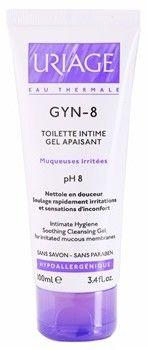 Uriage Gyn-Phy Gyn-8 Soothing Cleansing Gel Intimate Hygiene żel do higieny intymnej do podrażnionej skóry 100 ml + do każdego zamówienia upominek.