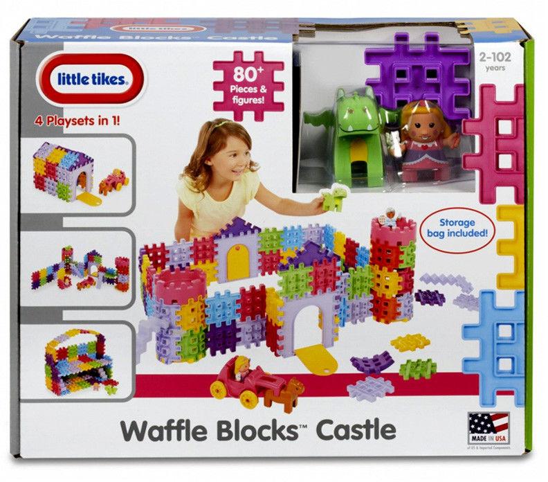 Little Tikes Waffle Blocks Zamek 641091