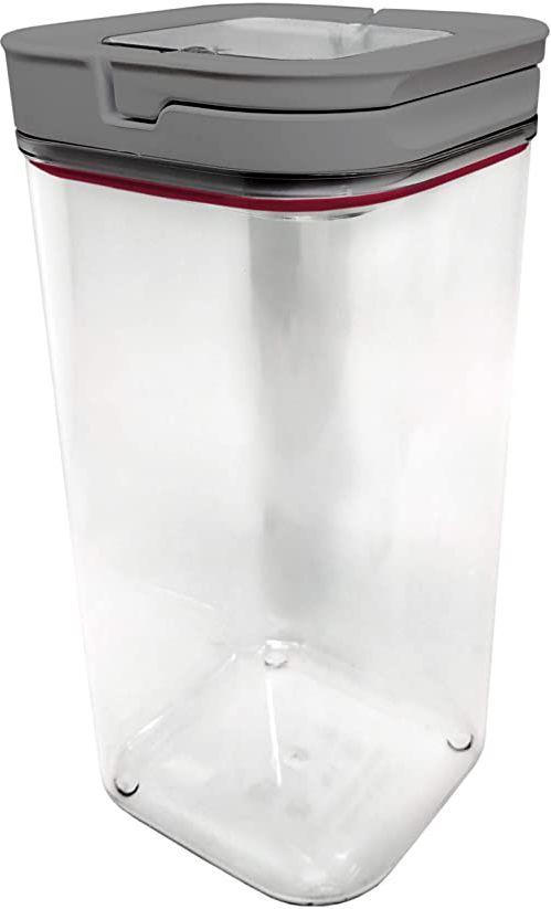 NERTHUS NerthusFIH 445 pojemnik na żywność, kwadratowy, 1700 ml, jedyny w swoim rodzaju, przezroczysty