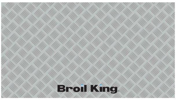 Mata pod grilla Broil King Premium - srebrna