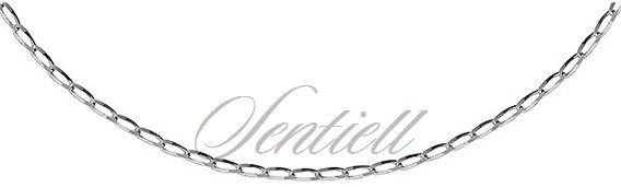 Łańcuszek srebrny pr.925 cheval rodowany