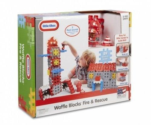 Little Tikes Waffle Blocks Straż pożarna 643149
