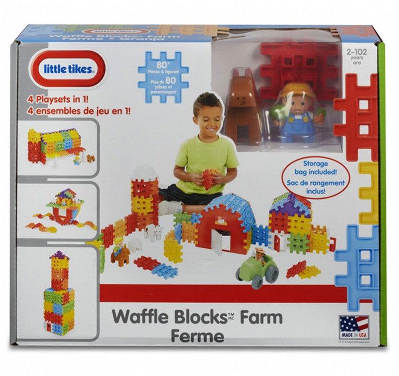 Little Tikes Waffle Blocks Gospodarstwo 641527