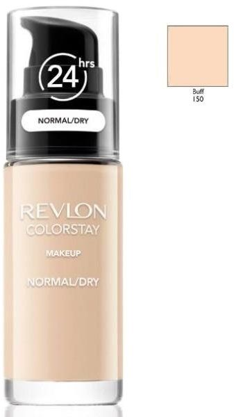 Revlon ColorStay 150 Buff 30ml podkład z pompką do skóry normalnej i suchej [W]