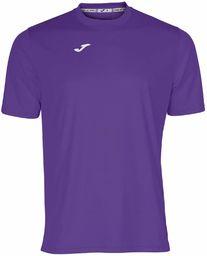 Joma męska koszulka 100052.550 Joma 100052.550 z krótkim rękawem - fioletowy/fioletowy, 2X-mały Purple/Purple L