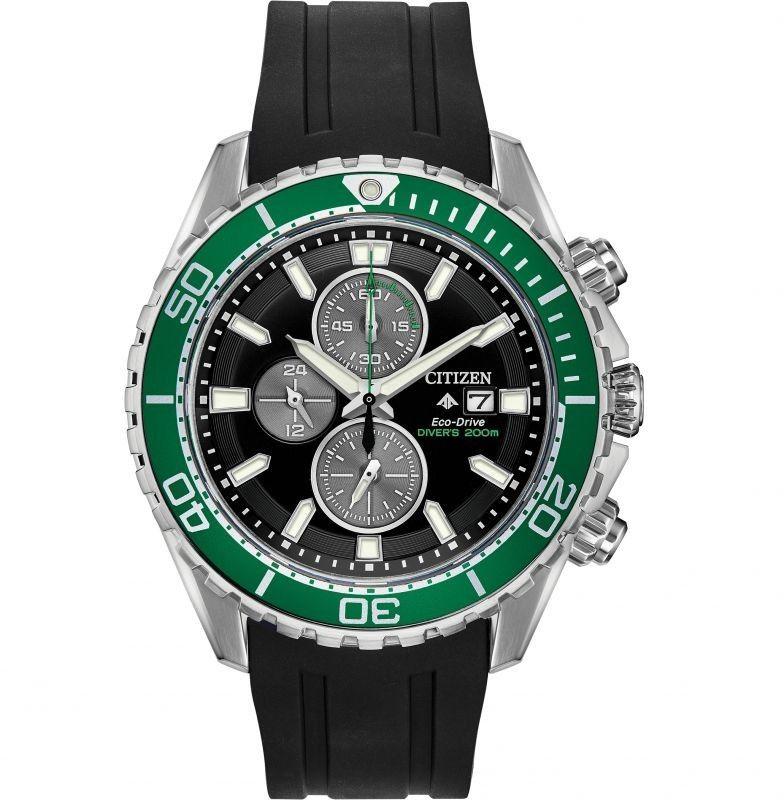 Zegarek męski Citizen Promaster Diver Chronograph CA0715-03E