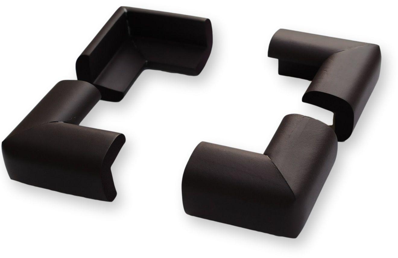 4 x osłonki, narożniki piankowe czarne