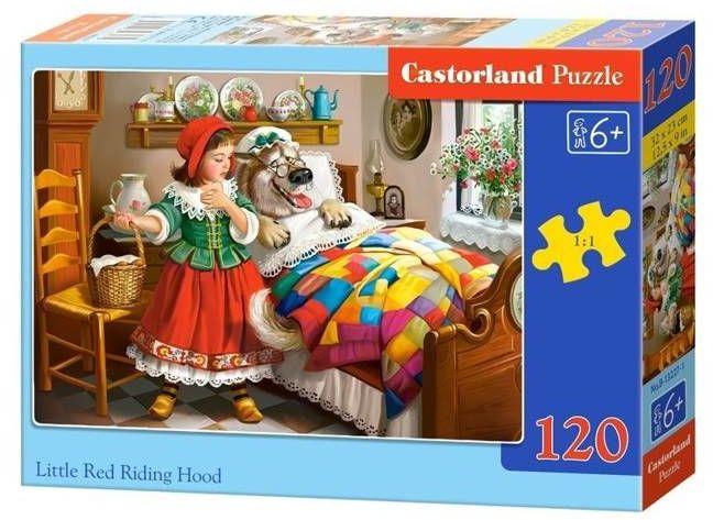 Puzzle 120 Czerwony Kapturek CASTOR - Castorland