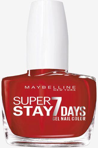 Maybelline Superstay 7 dni Żelowy lakier do paznokci 008 Passionate Red