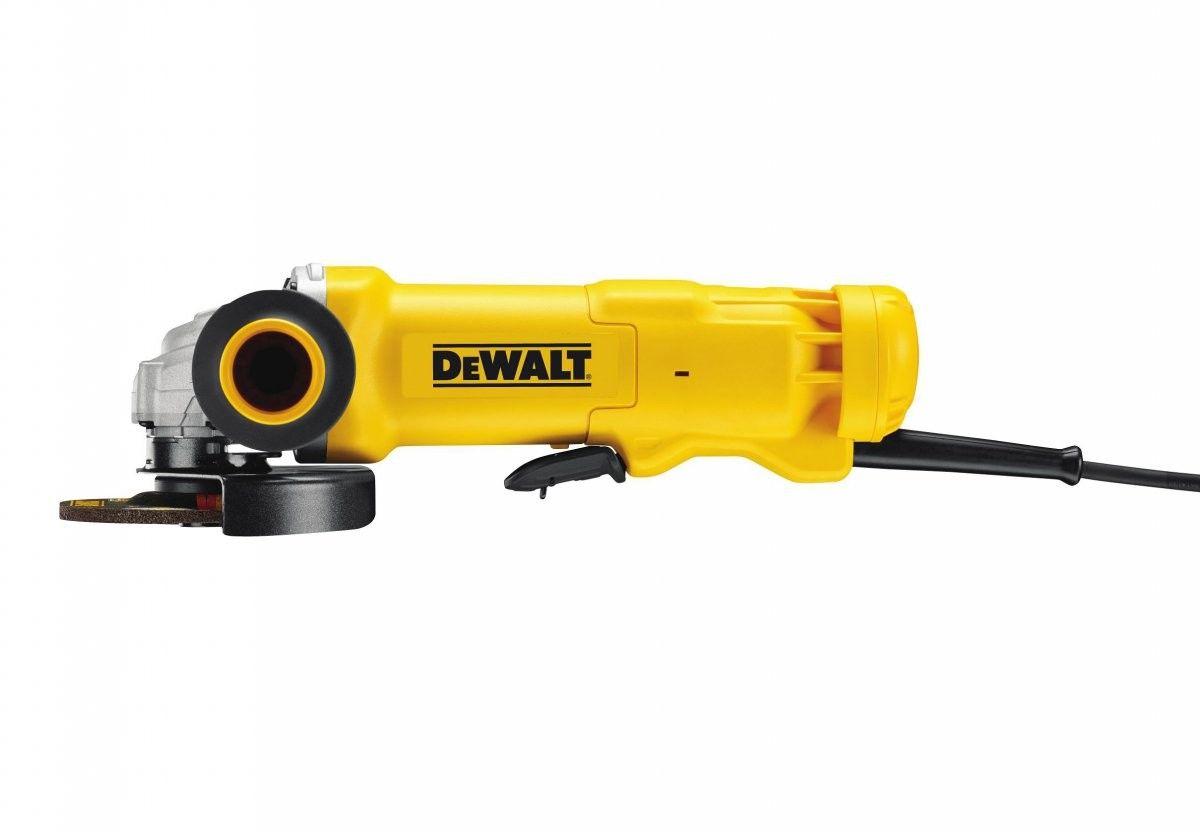 szlifierka kątowa 125mm z włącznikiem łopatkowym, 1010W DeWALT [DWE4203]
