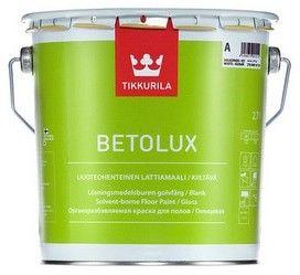 TIKKURILA BETOLUX- emalia do drewnianych i betonowych podłóg, baza A, 9 l