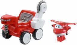 Super Wings Transfom a Bot Vehicle Jett''s Moon Rover Pojazd i figurka 5-calowa