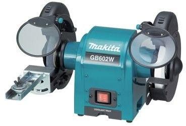 szlifierka stołowa dwutarczowa 2x150mm, 250W, Makita [GB602W]