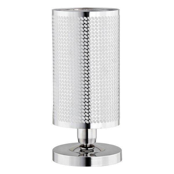Lampa stołowa MARICA chrom śr. 15cm