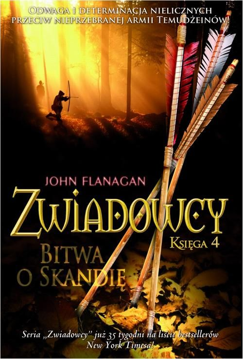 Zwiadowcy Księga 4 Bitwa o Skandię - John Flanagan - ebook