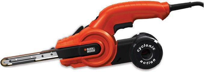 elektryczna szlifierka taśmowa / pilnik do metalu, 451x13mm, 400W, Black+Decker [KA902EK]
