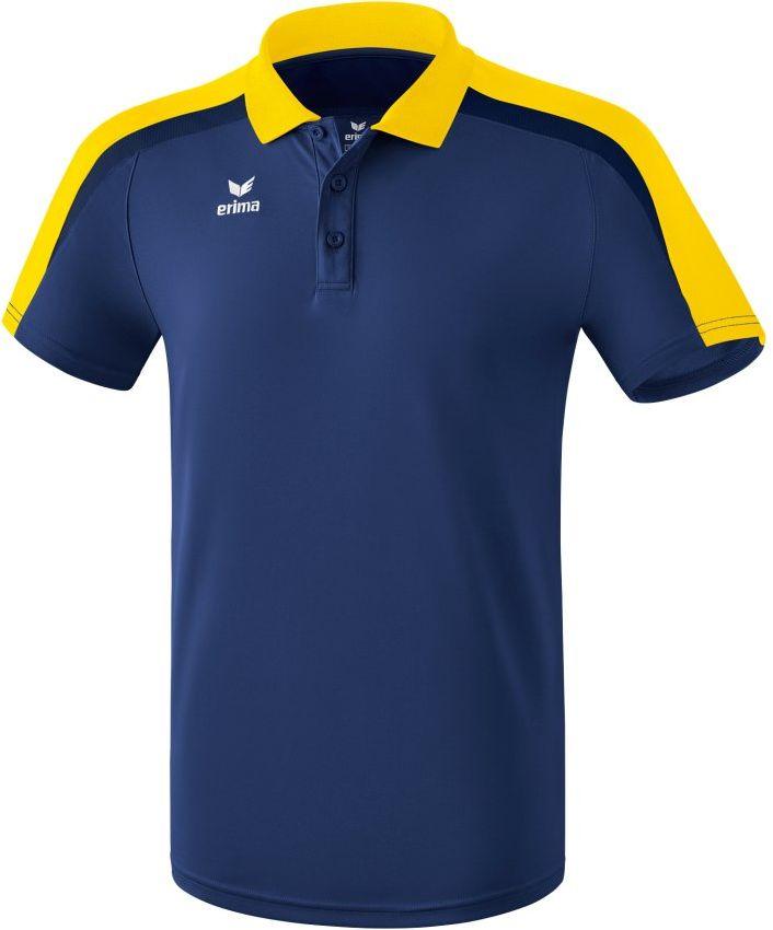 Erima 116 dziecięca koszulka polo New Navy/żółty/Dark Navy, 116